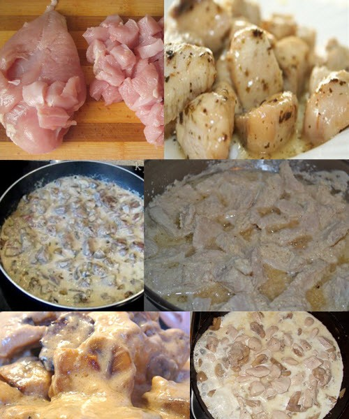 Как сделать куриную подливу к макаронам 157