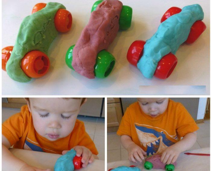 Пластилин поделки дошкольники 10