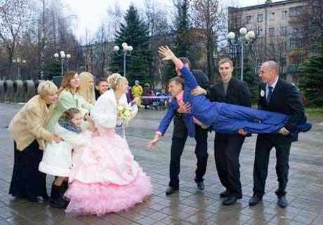 Необычные интересные конкурсы для выкупа невесты