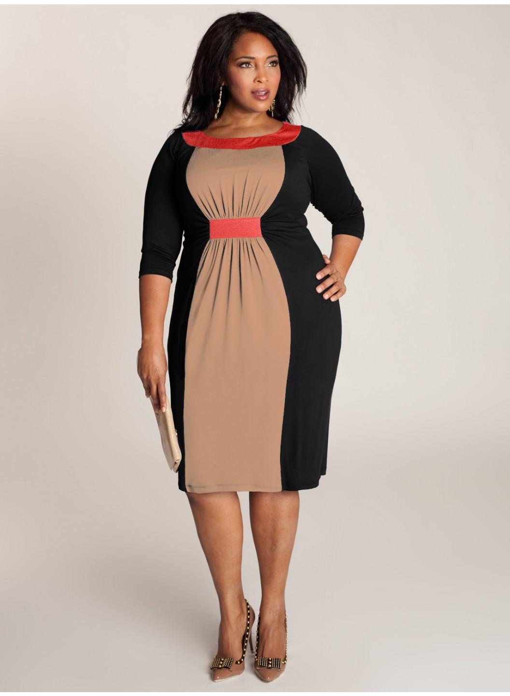 Модели для полных платья фото